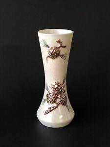 Art Glass Vase Gold /& Brown Art Glass Vase Vintage Norcrest Blue Norcrest Vase
