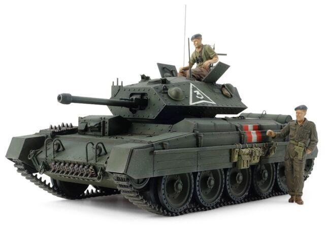 Tamiya 37025 1/35 Military Model Kit British Cruiser Tank MK.VI Crusader Mk.III