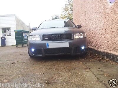 AUDI A4 B6  H11 FOG LIGHT LED HID LOOK  6000K PURE WHITE XENON LOOK CANBUS