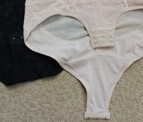 BLACK BROWN Pocket Girdle Wedding Shapewear Full BODY SHAPER TUMMY Control SMLXL