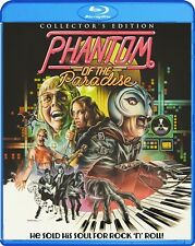 PHANTOM OF THE PARADISE New Sealed Blu-ray + DVD Collector's Edition