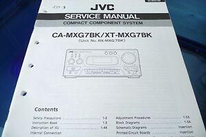 service manual instructions for jvc ca mxg7 xt mxg7 rx mxg7 rh ebay com service manual jvc hr-vp674u service manual jvc rx-v8