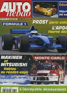 AUTO-HEBDO-n-1274-du-24-Janvier-2001-MONTE-CARLO-DAKAR-EDONIS-PROST-GP