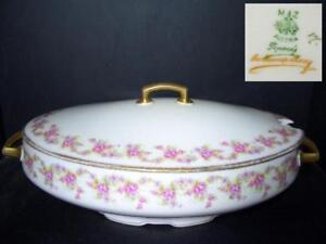 MZ-ALTROHLAU-LA-FRANCE-ROSE-LARGE-OVAL-SERVING-BOWL-BRIDAL
