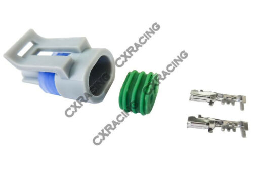 CXRacing Air Temp Temperature Sensor Connector Terminal for LS1 LSx Engine 4pc