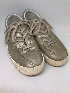 Details about TRETORN NYLITE6 BOLD Platinum Sneaker Gold Women's Size US 8.5 EUR 40 Shoes
