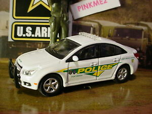 Image Is Loading Us Army Greenlight 13 Chevy Cruze White Police