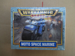 D11C40 MOTO SPACE MARINE WARHAMMER 40000 W40K (1998) SEALED