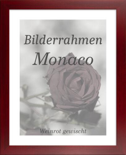 Bilderrahmen Monaco 54x79 cm Foto Poster Puzzle Galerie 79x54 cm