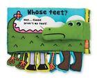 Melissa & Doug Soft Activity Book - Whose Feet