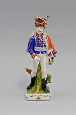 Porzellan Figur französischer Soldat Wagner&Apel H20cm 9942025