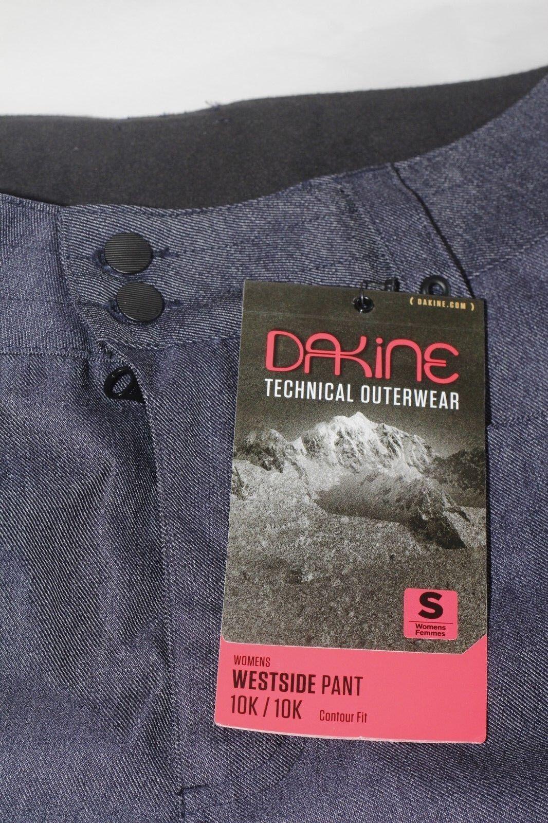 DaKine Technical Outerwear Women's Small Westside 10K 10K Snowboard Pants