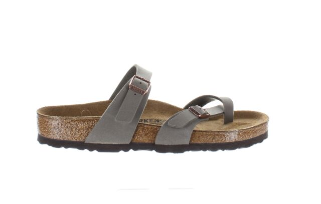Birkenstock Womens Mayari Stone Sandals EUR 39 (1409516)