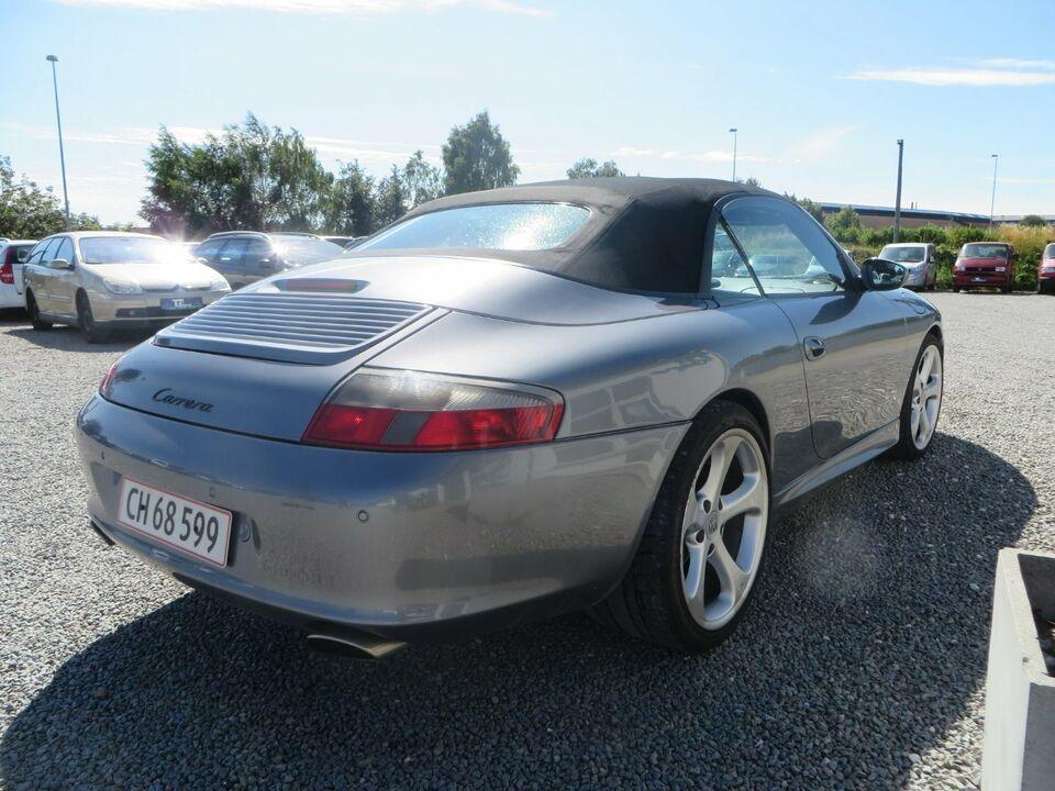 Porsche 911 Carrera 3,6 Cabriolet Benzin modelår 2002 km