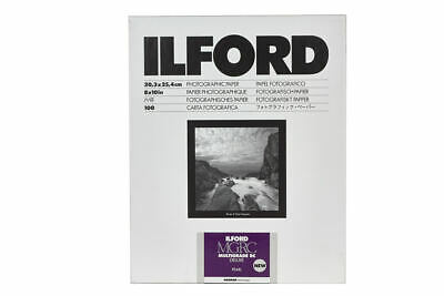 "20.3 x 25.4cm Ilford MGRC V Deluxe Satin 8x10/"" 100 Sheets"