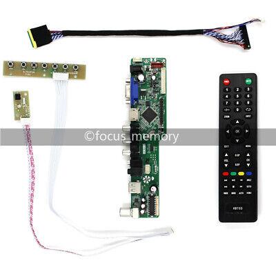 LCD LED screen Controller Board lvds Kit For LTN156AT02 TV+HDMI+VGA+USB