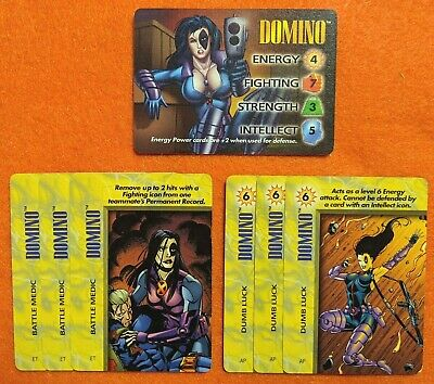 OVERPOWER Morbius IQ LOT IQ hero 6 sp Induce Panic x3 Shadowy Escape x3