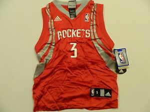 new styles 3a9a7 85bfc Details about M22 New Flawed Adidas Houston Rockets Tracy McGrady Tmac  Jersey Youth Small 8
