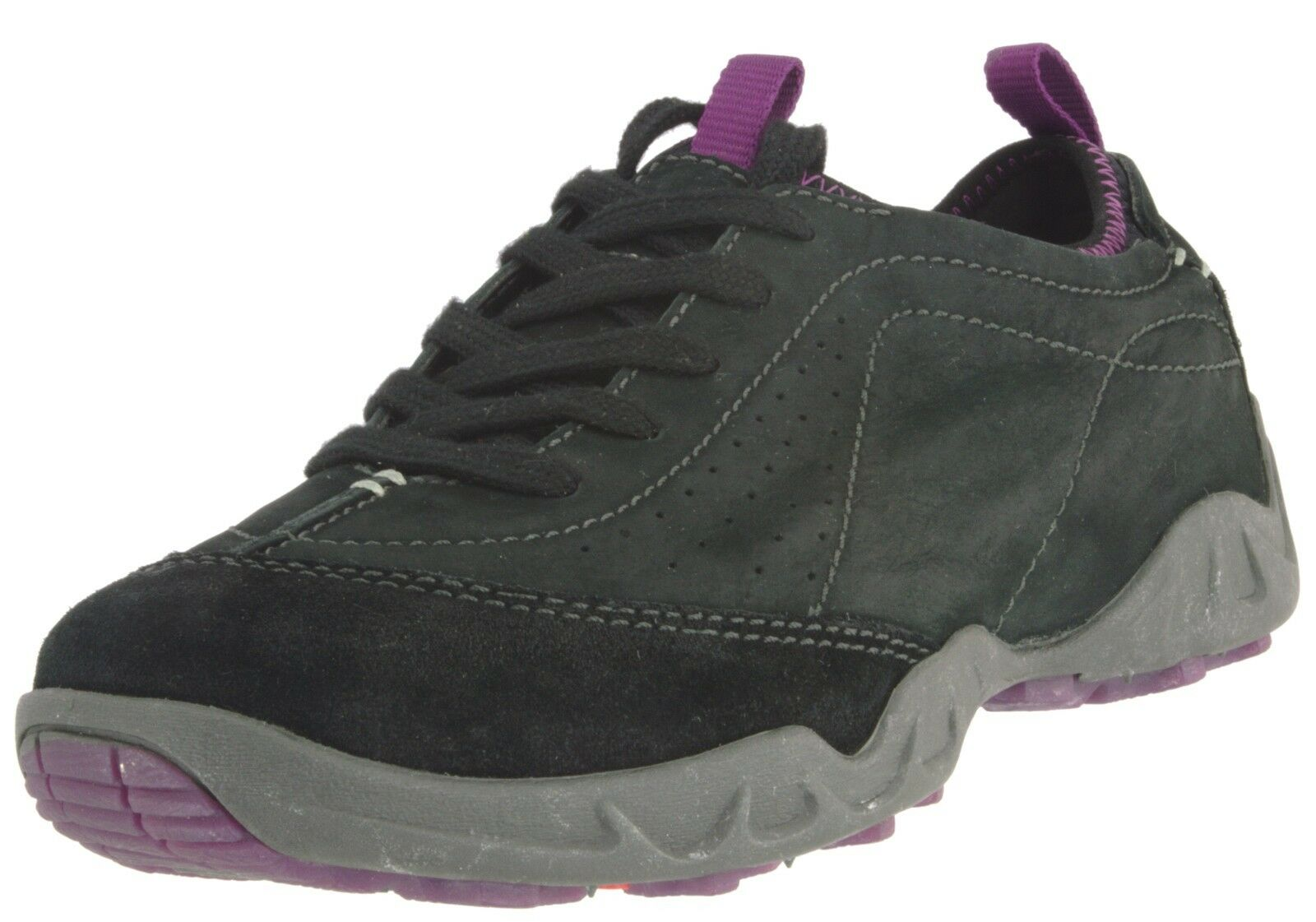 ECCO SAMPLE 851603 WOMEN'S SIERRA SUEDE  ATHLETIC SNEAKER SNEAKER SNEAKER SHOES EU 37 US 6-6.5 b04968