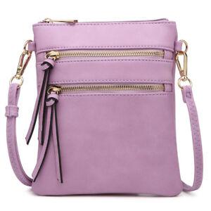 Dasein-Women-Handbags-Faux-Leather-Crossbody-Bag-Messenger-Bag-Mini-Purse