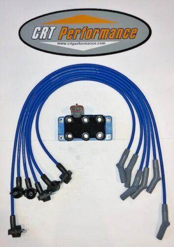 98 99 00 ford f150 4.2l v6 ignition tune up kit blue + hp torque 40k  powerboost | ebay  ebay