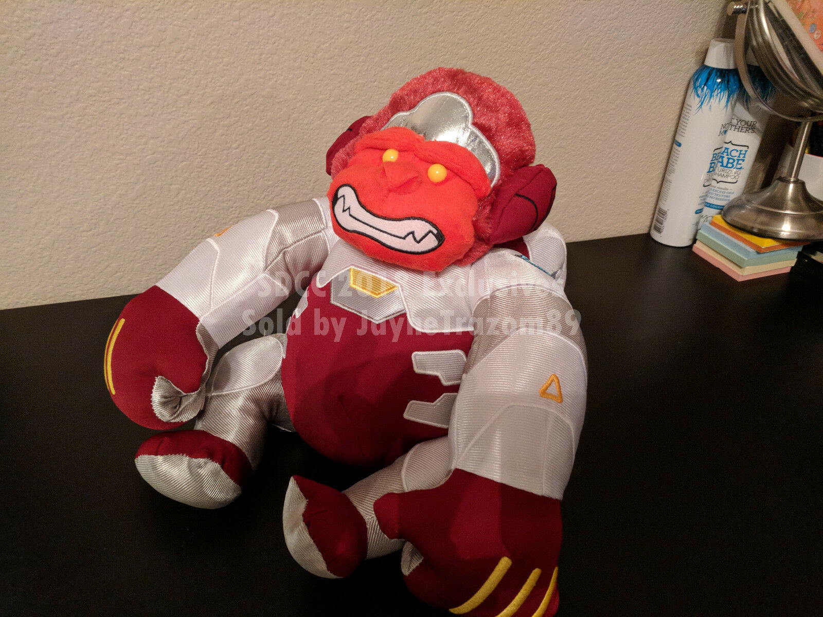 2018 SDCC Exclusive - Overwatch Rage Winston Supersize Plush - Blizzard