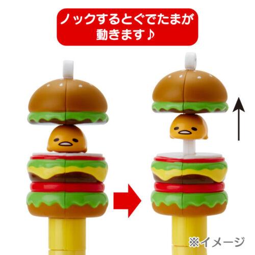 Action Ballpoint Pen Japan Sanrio Gudetama Mascot Mechanical Pencil