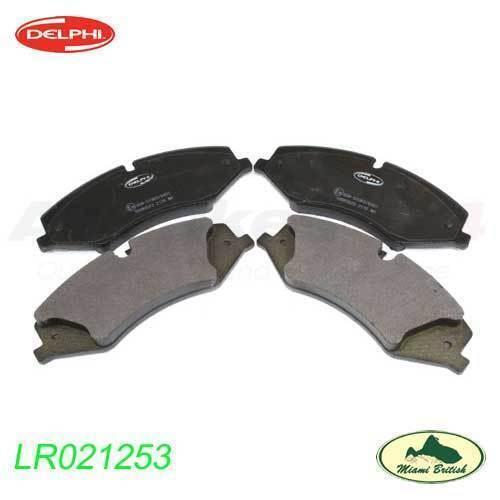LAND ROVER FRONT BRAKE PAD SET RANGE SPORT 10-13 LR4 V8 5.0 LR051626 DELPHI