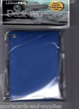 100 TSUNAMI  BLUE YUGIOH DECK PROTECTOR SLEEVES ULTRA PRO 81597