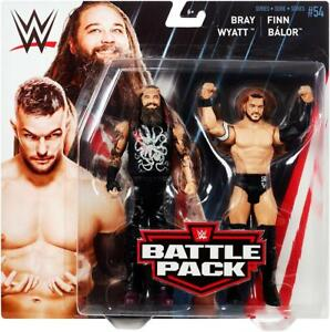 Finn Balor /& Bray Wyatt Battle Pack 54 WWE Mattel Neuf Jouets-Menthe Emballage