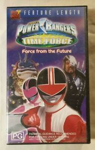 Saban-039-s-Power-Rangers-Time-Force-VHS-2001-Force-From-the-Future-20th-Century-Fox