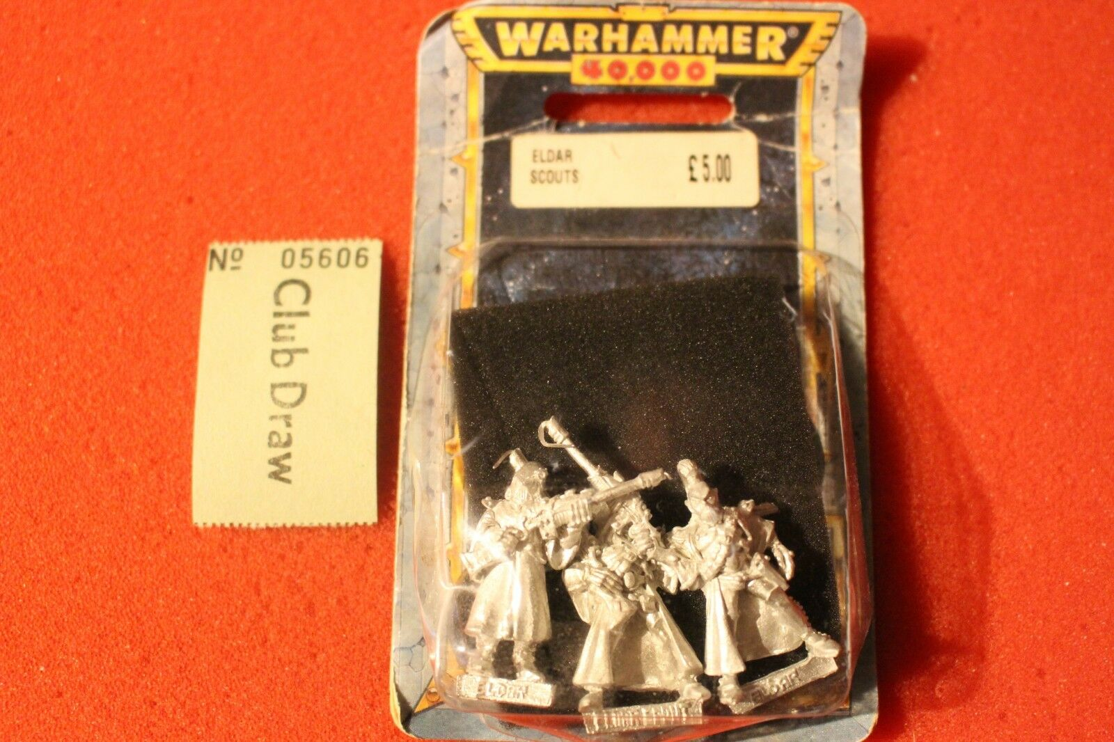 Games Workshop Warhammer 40k Eldar Rangers Scouts BNIB Metal New WH40K x3 Figure