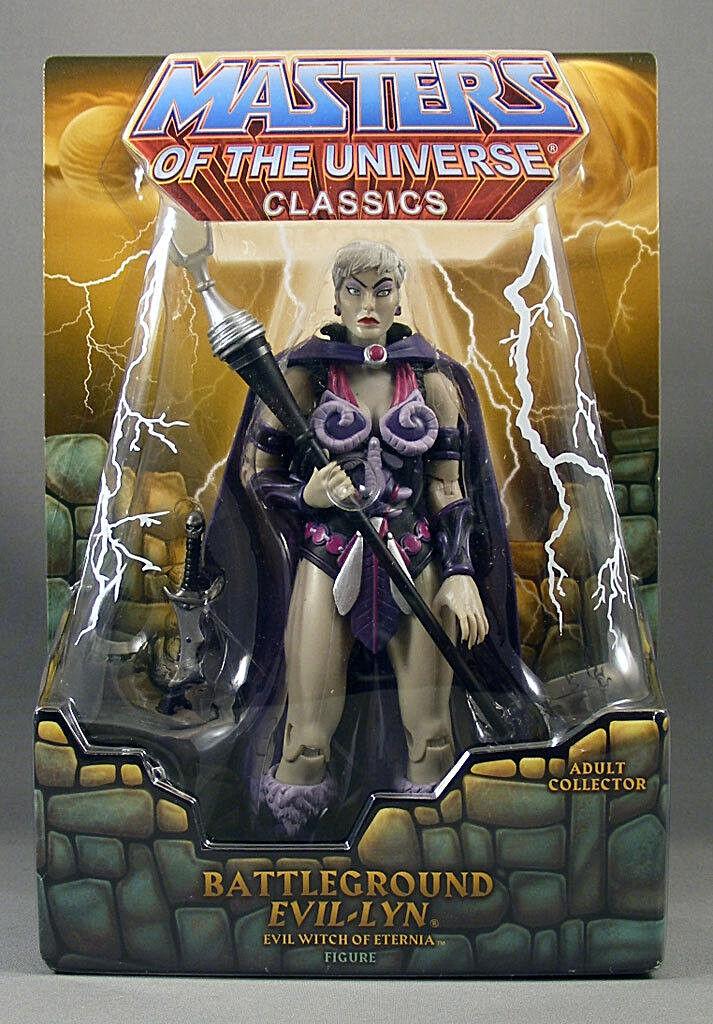 Masters del universo clásicos _ campo de batalla Evil-Lyn _ exclusiva edición limitada