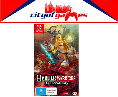 Hyrule Warriors Age Of Calamity Nintendo Switch Game Brand New In Stock Ebay