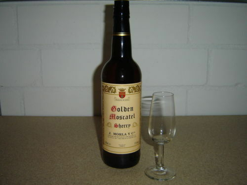 3 x Sherry Golden Moscatel J Morla Jerez Casco de la Cruz 170 g RZ Spanien NEU