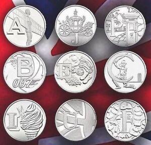 rare 10 pence coins 2018