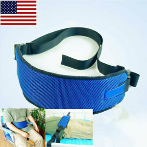 Safety-Wheelchair-Seat-Belt-Bed-Guardrail-Strap-Quick-Release-Buckle-Seatbelt