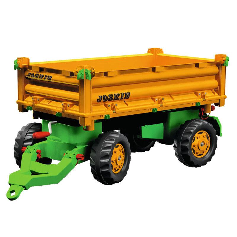 123209 Rolly Toys Multitrailer Joskin 2 Achsen vorbildgetreue Funktion