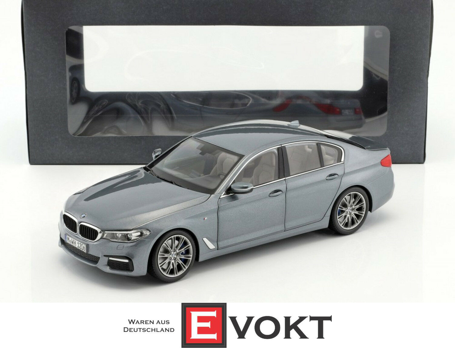 Original BMW Miniature 5 Series G30 Sedan blustone met. 1 18 KYOSHO model car