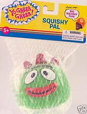 YO GABBA GABBA Squishy Pal Toy BROBEE Green Monster Baby Drummer Basic Fun Lance