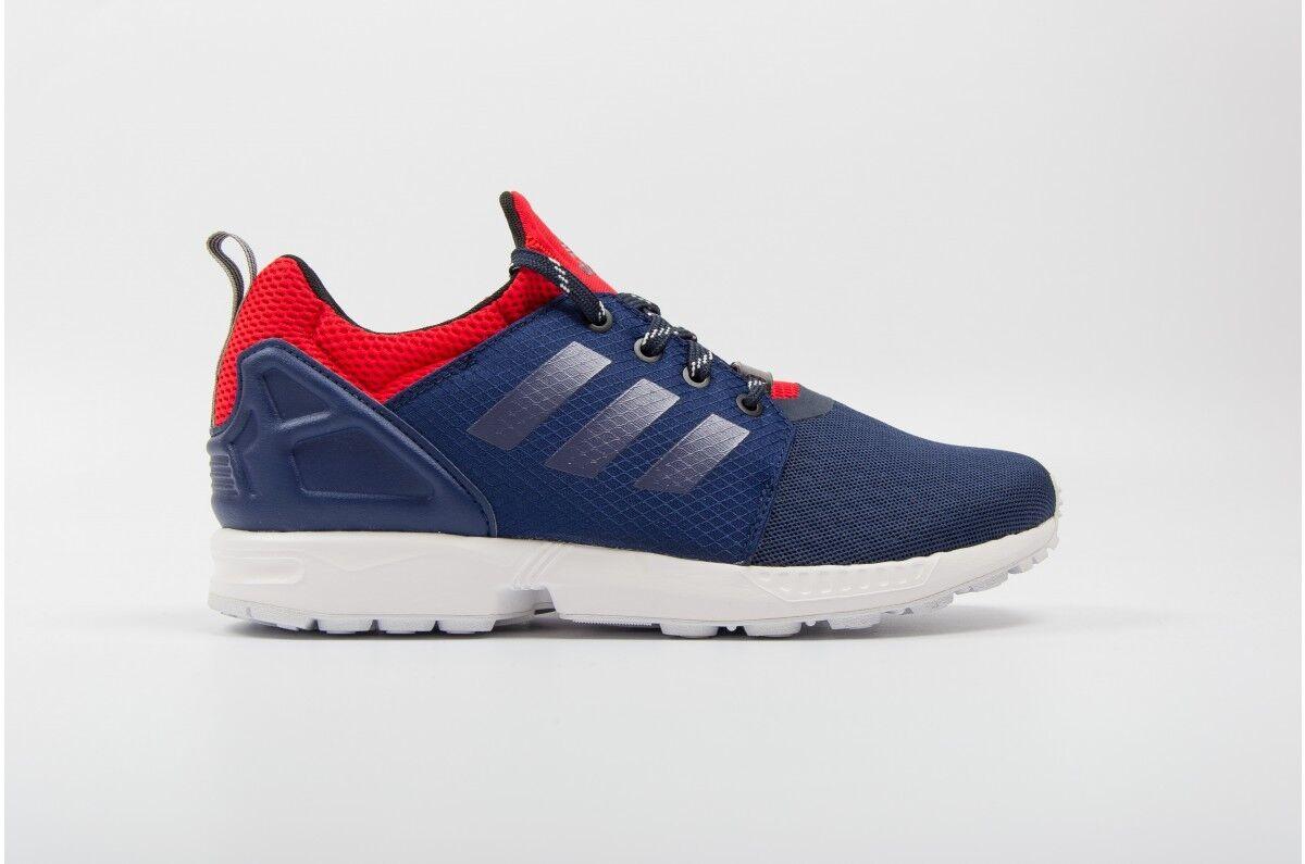 Adidas Originals ZX Flux Nps updt Azul/Rojo Entrenadores Textil Slip On Hombre Entrenadores Azul/Rojo 6 _ 6.5 1df3d6