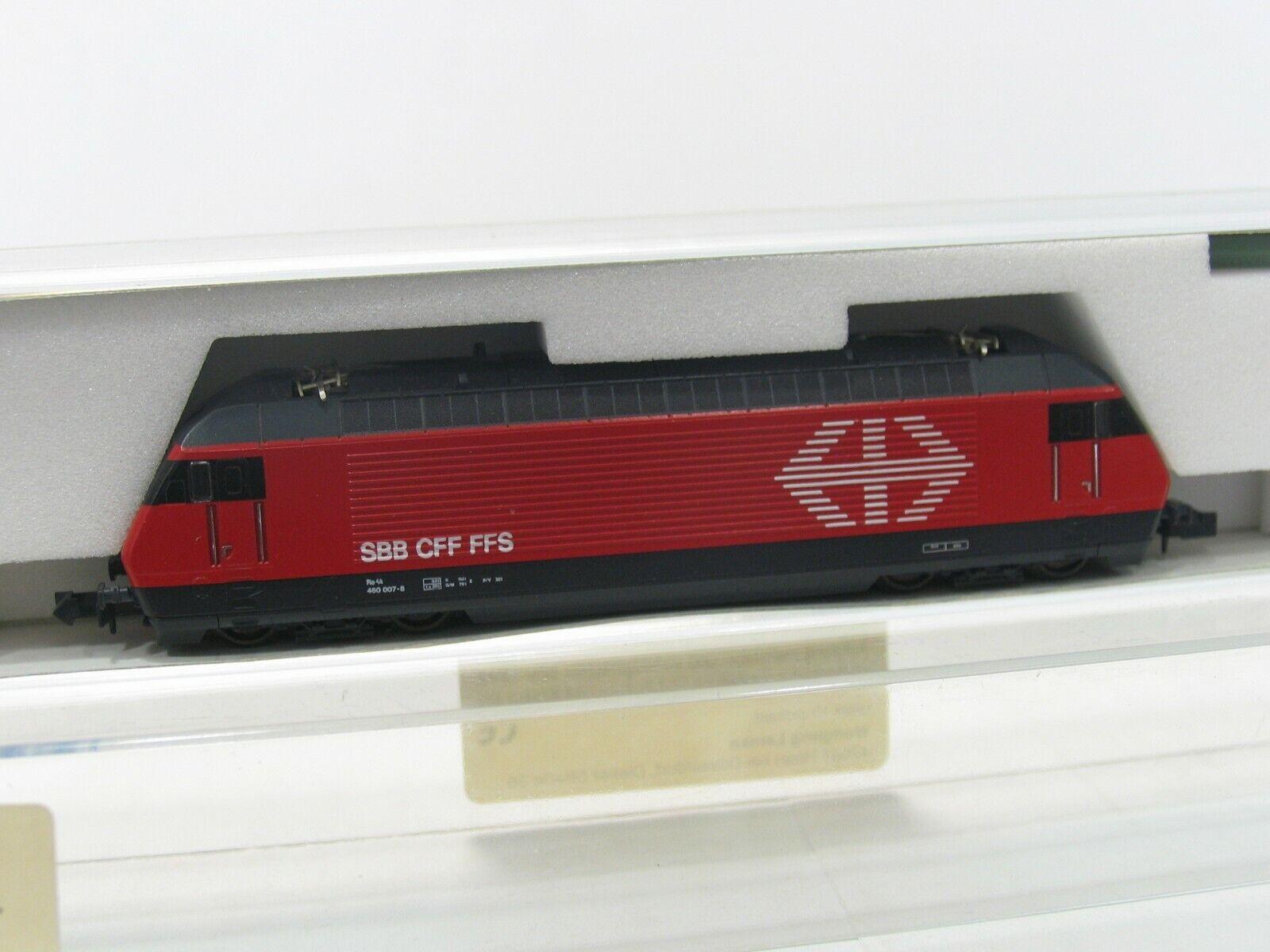 KATO 13709-4 E-LOK BR 460 007-8 ROT der SBB   NH198