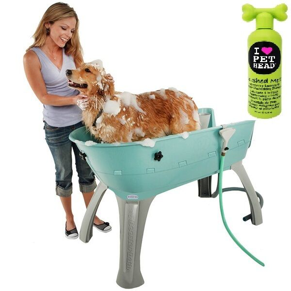 Booster Bath Elevated Dog Washing Tub Grooming Bathtub M Xl 4 Colors Shampo  Pink Large | EBay