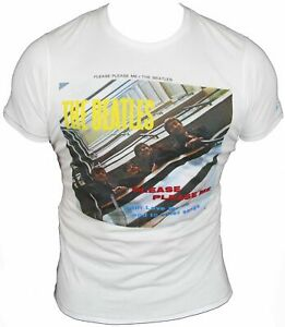New-Ben-Sherman-Beatles-Mens-T-Shirt-in-White-Colour-Round-Neck-Size-S