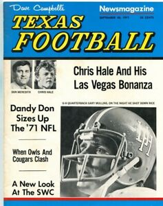 1971-Dave-Campbell-039-s-Texas-Football-9-30-1971-Don-Meredith-Chris-Hale