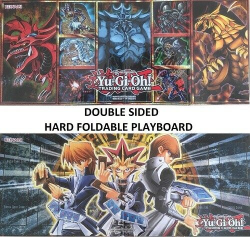 Konami YuGiOh Official Playmat Legendary Collection board mat 2 side