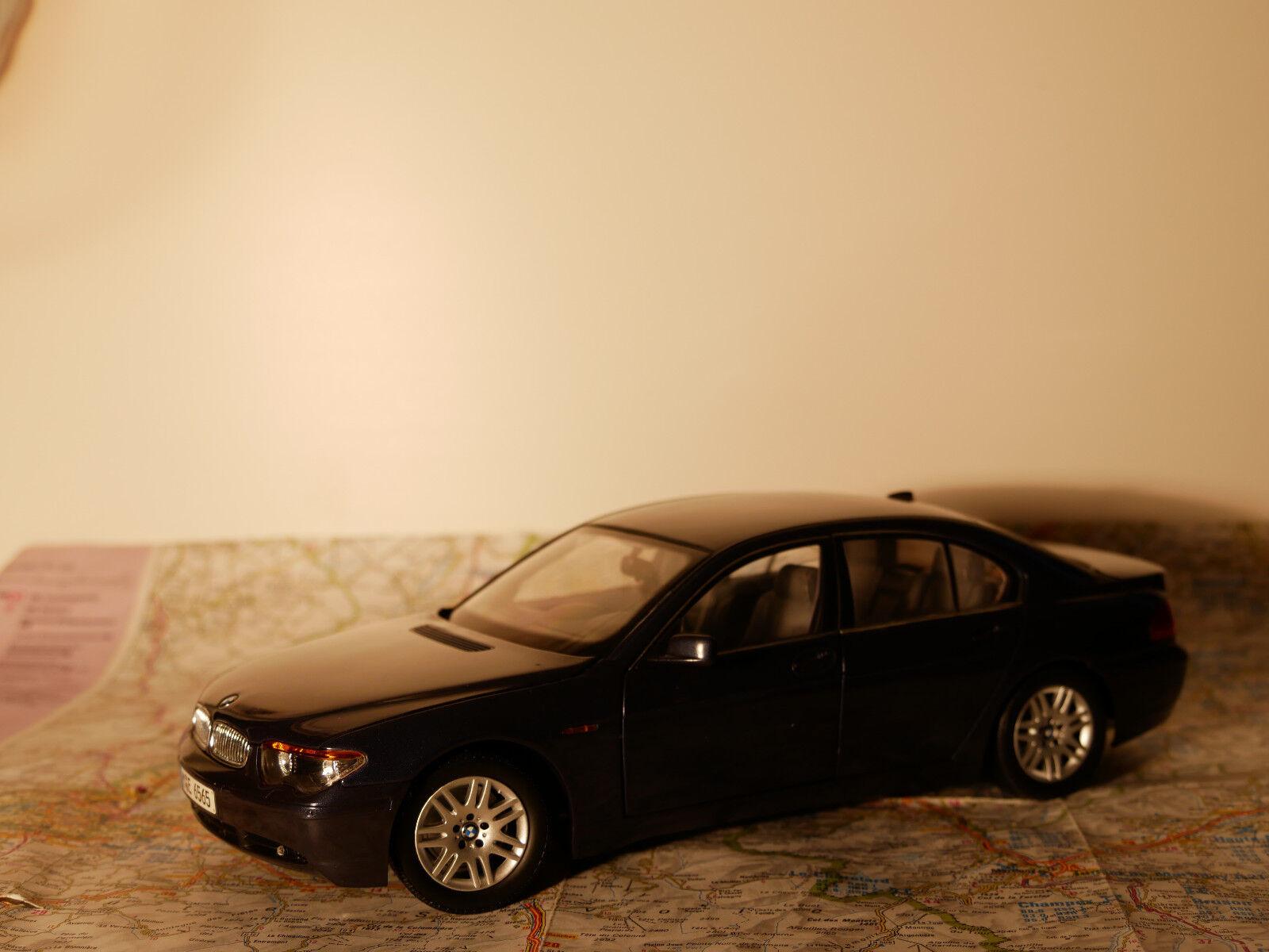 KYOSHO BMW 7-ER ART. 80430027859 blue blue blue  BWM - DEALER- VERSION + BOX  1 18  NEW 53cff9