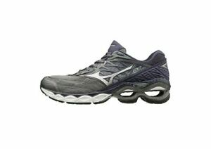 Mizuno-Wave-Creation-20-Men-039-s-Running-Shoes-Quiet-Shade-Silver-J1GC190103-19M