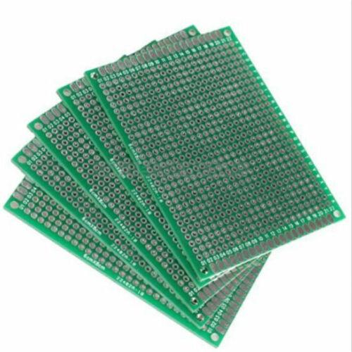 6x8cm Doppelseitige Prototyp Leiterplatte verzinnt Universal Breadboard