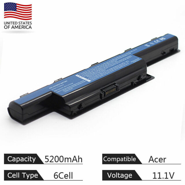 AS10D41 AS10D31 Battery For Acer Aspire 4551 4741 5733Z 5742 5750 7551 7741Z CA